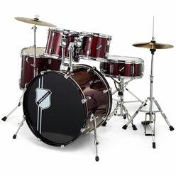 Millenium Focus 22 Drum Set Red