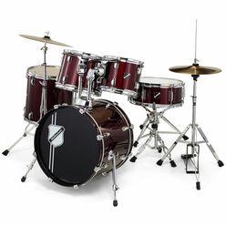 Millenium Focus 18 Drum Set Red