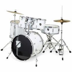 Millenium Focus 18 Drum Set White