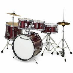 Millenium Focus Junior Drum Set Red