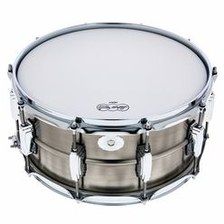 """Ludwig 14""""x6,5"""" Pewter Copper Snare"""