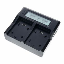 Baxxtar Pro LCD Dual Charger for NP-F