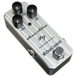 One Control Silver Peg Bass Preamp