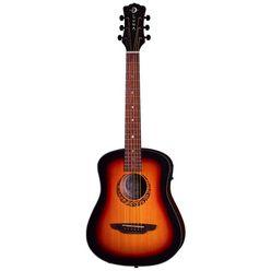 Luna Guitars Safari Tribal Travel A/E LH