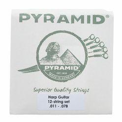 Pyramid Harpguitar String Set