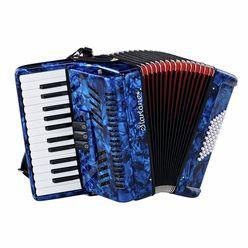 Startone Piano Accordion 48 Blue MKII