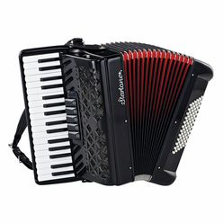 Startone Piano Accordion 72 Black MKII