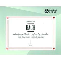 Breitkopf & Härtel Bach 371 vierstimmige Choräle