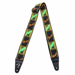 Fender Neon Strap Green/Orange