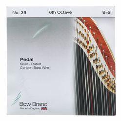Bow Brand Pedal BW Silver 6th B No.39