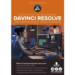 DVD Lernkurs DaVinci Resolve-Videotraining