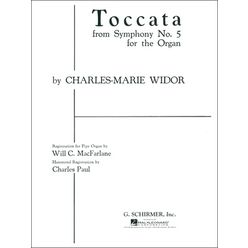 G. Schirmer Widor Toccata Symphony No.5