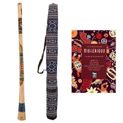 Thomann Didgeridoo Teak 150cm Set