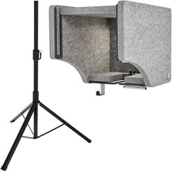 t.akustik Vocal Head Booth Stand Bundle