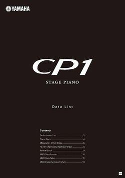 Data List