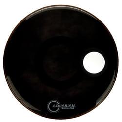 """20"""" Regulator Black Bass Drum Aquarian"""