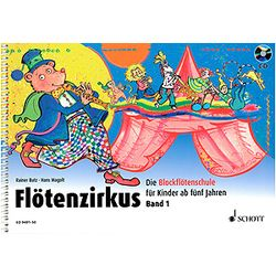 Flötenzirkus Vol.1 +CD Schott