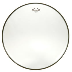 "22"" Ambassador Clear Bass Drum Remo"