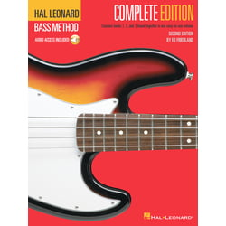 Bass Method Complete Edition Hal Leonard
