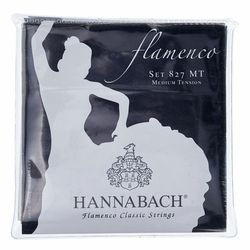 827MT Flamenco Black Hannabach