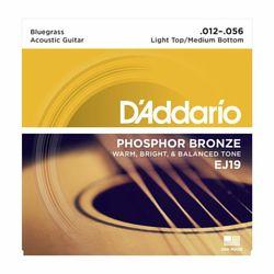 EJ19 Roundwound Strings Set Daddario