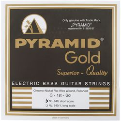 Gold Flatwound 040-100 Pyramid