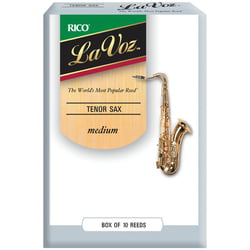 La Voz Tenor Sax M Daddario Woodwinds