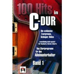 100 Hits in C-Dur Vol.1 Musikverlag Hildner