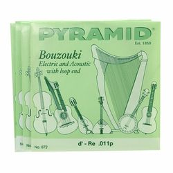 Bouzouki Strings 672/8 Pyramid