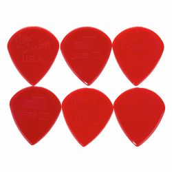 Jazz III Nylon Sharp Red 6PC Dunlop