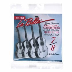FG178 7/8 Guitar Nylon La Bella