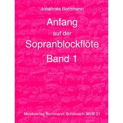 Anfang Sopranblockflöte 1 Johannes Bornmann