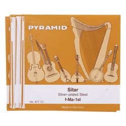 678/20 Sitar Strings Pyramid