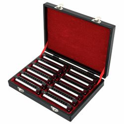 Blues Harmonica Set Harley Benton