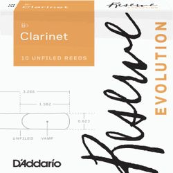 Reserve Evolution Clarinet 3 DAddario Woodwinds