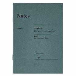 Notes Jotter A6 Henle Verlag