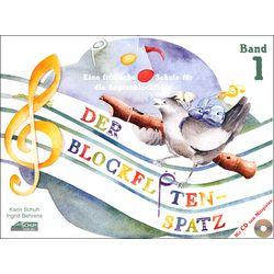 Der Blockflötenspatz Bd.1 CD Schuh Verlag