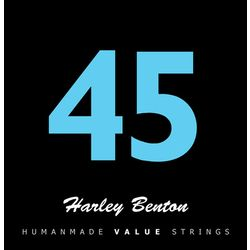 Valuestrings BassGuitar Medium Harley Benton