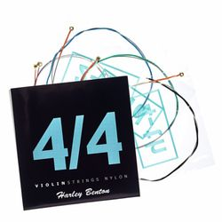 Violin Strings 4/4 Nylon Harley Benton