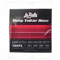 760FL Deep Talkin Bass La Bella