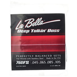 760FS Deep Talkin Bass La Bella