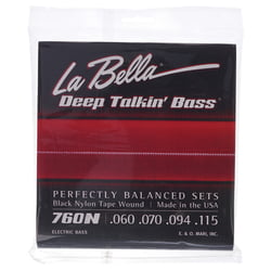 760N Black Nylon Tape La Bella