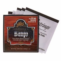 PF180 5-String Banjo Set GHS