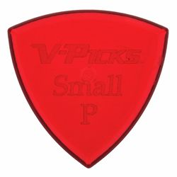 Small Pointed Ruby Red V-Picks