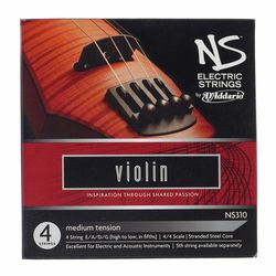 NS310 medium Electric Violin Daddario
