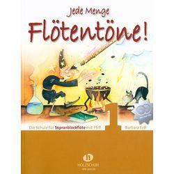 Flötentöne Vol.1 Sop-Rec +CD Holzschuh Verlag