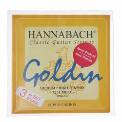Goldin Super Carbon Treble Set Hannabach