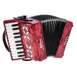 Puck Kids Accordion Red Startone