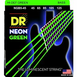 NGB-45-5 Strings Set Neon GN DR Strings
