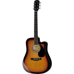 Squier SA-105CE SB Fender